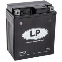 Batterie moto Landport LP GEL GTX7-3 YTX7L-BS 12v 6ah 90A