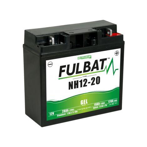 Batterie moto NH1220 / SLA1220 étanche Gel 12V / 20Ah