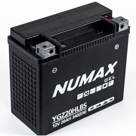 Batterie moto Numax Supreme GEL Harley YGZ30HL-BS 12V 30Ah 490A
