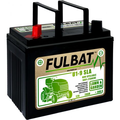 Batterie moto U1-9 sans entretient AGM 12V / 28Ah
