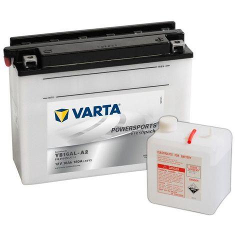 Batterie Moto VARTA YB16AL-A2 12V 16AH 180A