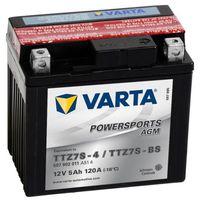 Batterie Moto VARTA YTZ7S-BS 12V 5AH 120A