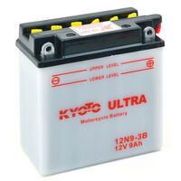 Batterie moto YB9L-B/ 12N9-3B / GB9L-B 12V 9Ah