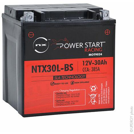 Batterie moto YTX30L-BS/ NTX30L-BS 12V 30Ah