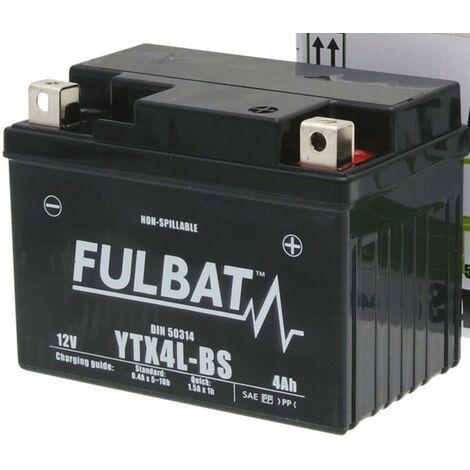 "main image of ""Batterie moto YTX4L-BS étanche AGM 12V / 3Ah"""