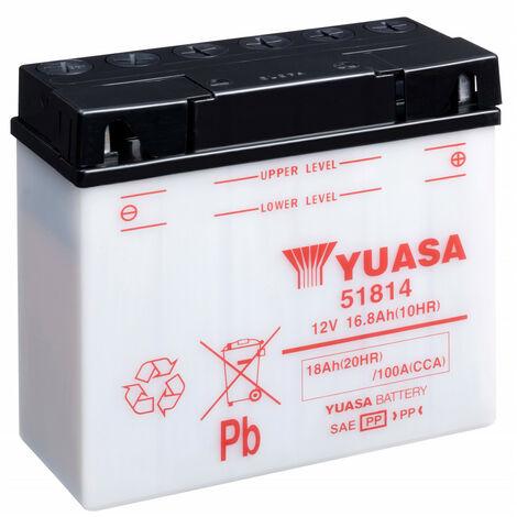 Batterie moto YUASA 51814 12V 18AH 100A