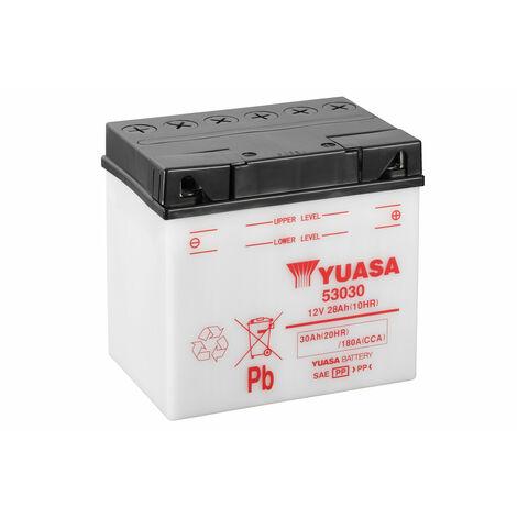 Batterie moto YUASA 53030 12V 30AH 180A