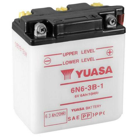 Batterie moto YUASA 6N6-3B-1 6V 6.3AH
