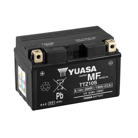 Batterie moto YUASA TTZ10S-BS 12V 9.1AH 190A
