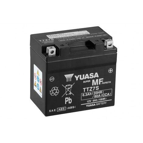 Batterie moto YUASA TTZ7S 12V 6.3AH 90A