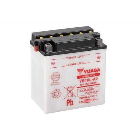 Batterie moto YUASA YB10L-A2 12V 11.6AH 120A
