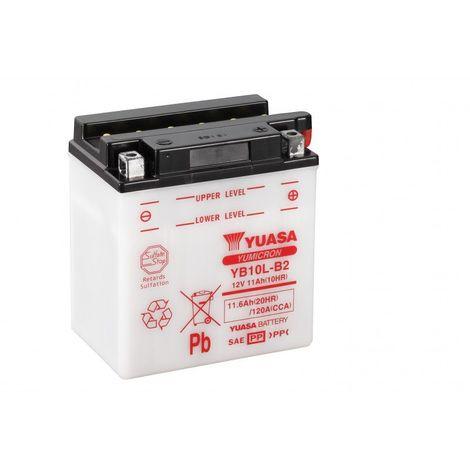 Batterie moto YUASA YB10L-B2 12V 11.6AH 120A