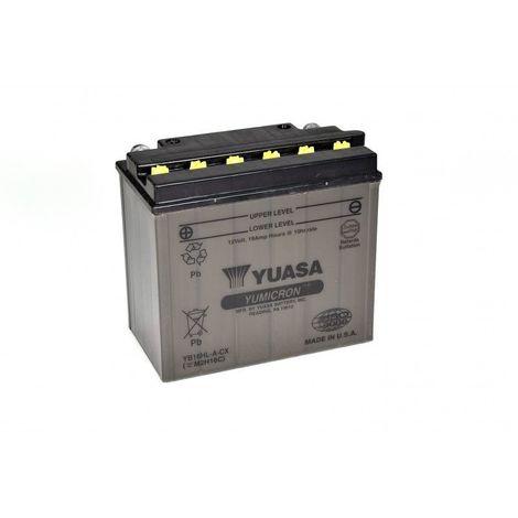 Batterie moto YUASA YB16HL-A-CX 12V 20AH 255A