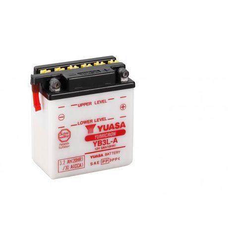 Batterie moto YUASA YB3L-A 12V 3.2AH 30A