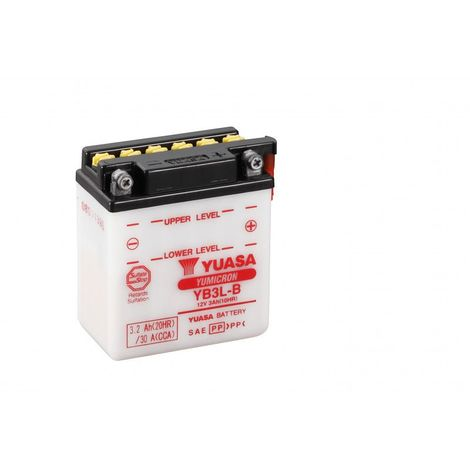 Batterie moto YUASA YB3L-B 12V 3.2AH 30A