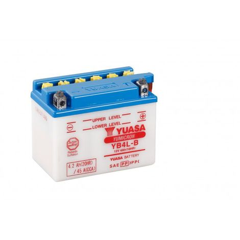 "main image of ""Batterie moto YUASA YB4L-B 12V 4.2AH 45A"""