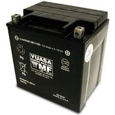 Batterie moto Yuasa YTX30L-BS / YIX30L étanche 12V / 30Ah