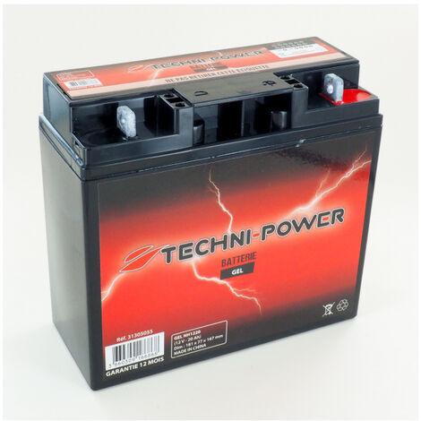 Batterie motoculture plomb Gel 12V 20Ah sans entretien