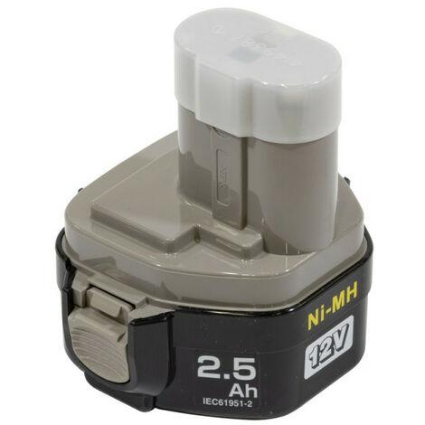 Makita – Batterie 12V 2,6Ah NiMh – 1234 - TNT