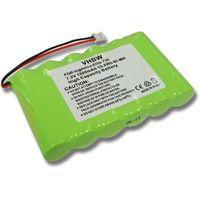 batterie NI-MH 1500mAh 7.2V pour INGENICO Elite 730, 730T, 730 T, 770 remplace 789316, 6VHAAL