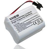 batterie NI-MH 2000mAh (7.2V) pour TIVOLI Pal, iPal remplace MA1, MA-1, MA2, MA-2, Ma3, MA-3.