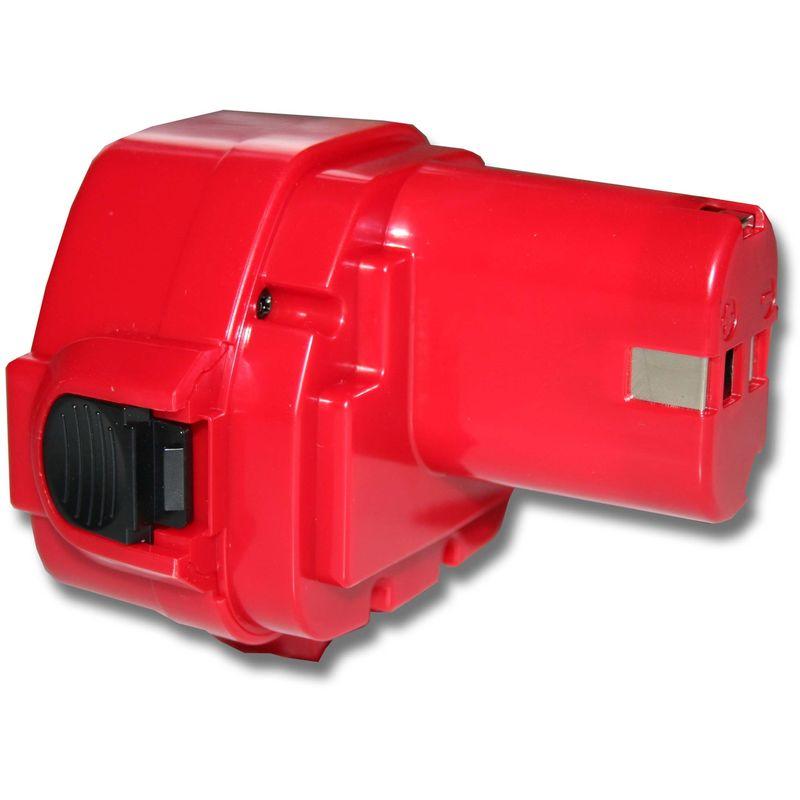 UC120DWAE gris pour Makita UC120DW 3x BATTERIE d/'outil 3000mAh 12V rouge