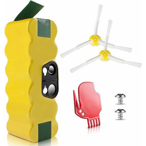 Batterie Ni-MH 4050mAhRoomba iRobot Aspirateur, Morpilot batterie pour iRobot Roomba S��ries 500, 600, 700 800 900 Scooba 450