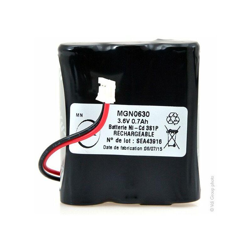 OEM - Batterie NiCd 3x AA 3S1P ST1/SG/ 3.6V 700mAh FC