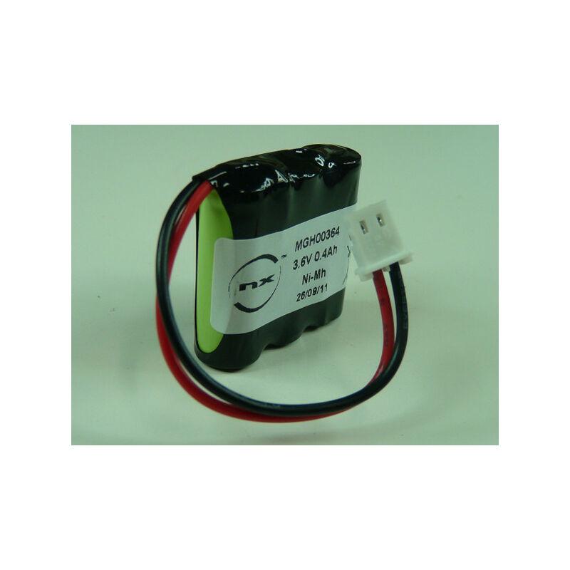 NX - Batterie NiMH 3x 2/3AAA 3S1P ST1 3.6V 300mAh FC