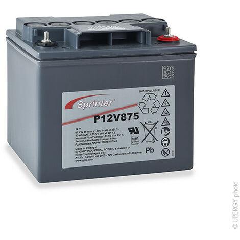 Batterie onduleur (UPS) SPRINTER P12V875 12V 40Ah M6-M
