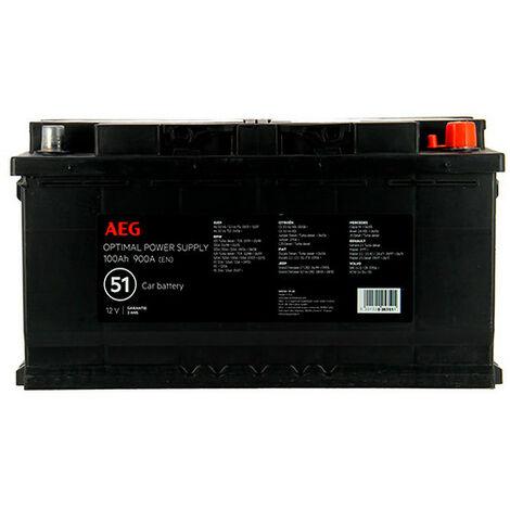 Batterie Optimal power supply n°51 - 900 A - 100 Ah - 12 V - AEG