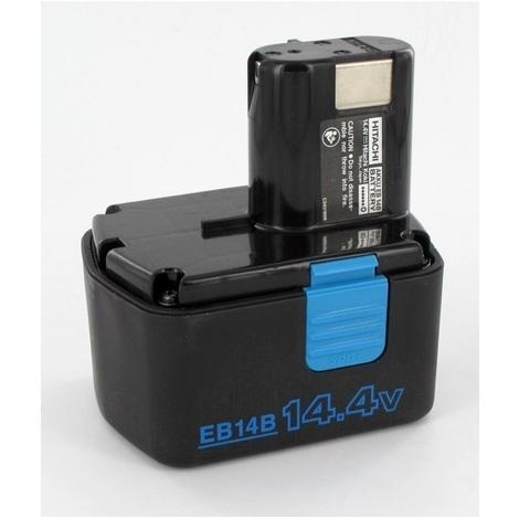 Batterie originale HITACHI 14,4V EB14B pour visseuse DS14DVF3