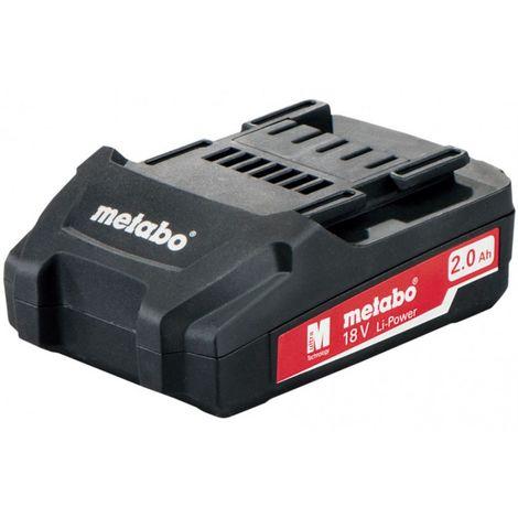 Batterie originale METABO 18V 2Ah li-ion LI-POWER