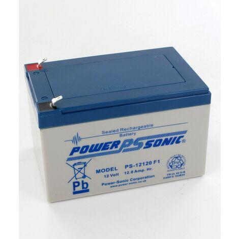 Batterie plomb 12V 12Ah PS-12120 Power Sonic