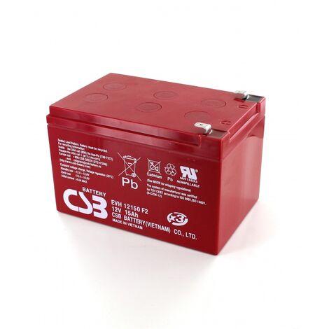 Batterie Plomb 12V 15Ah CSB EVH12150