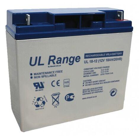 Batterie plomb 12V 18Ah Ultracell gamme UL
