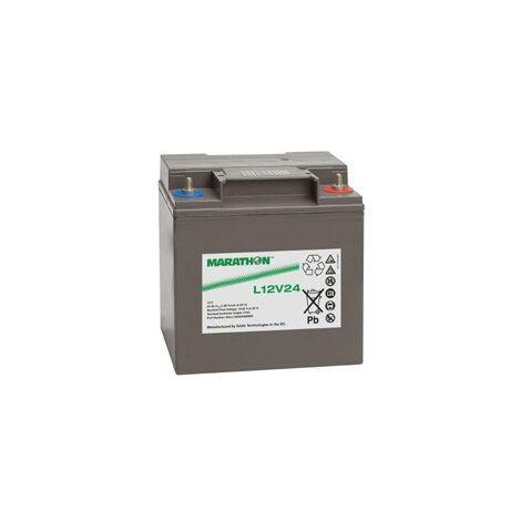Batterie Plomb 12V 24Ah Marathon L12V24 AGM