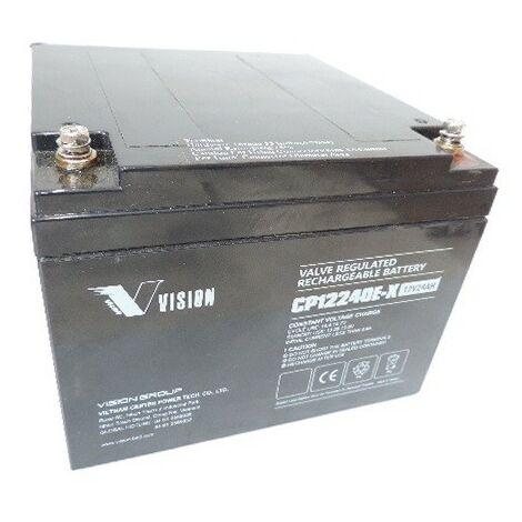 Batterie plomb 12V 24Ah VISION CP12240E-X URA 957820