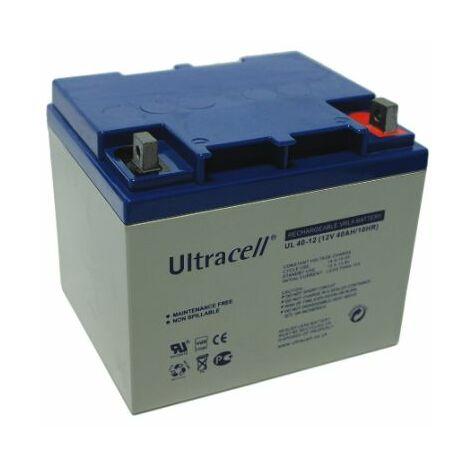 Batterie plomb 12V 40Ah Ultracell gamme UL