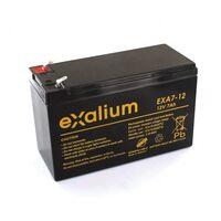 Batterie Plomb 12V 7Ah Exalium EXA7-12