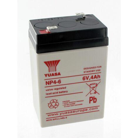 Batterie plomb 6V 4Ah OVA51023E pour TOPLUX