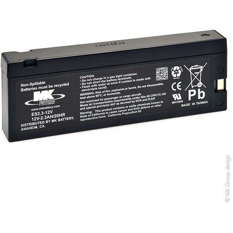 Batterie plomb AGM ES2.3-12V 12V 2.3Ah TU