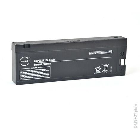 Batterie plomb AGM NX 2.3-12 General Purpose 12V 2.3Ah TU