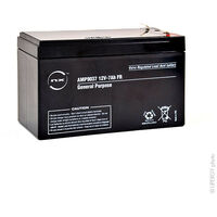 Batterie plomb AGM NX 7-12 General Purpose FR 12V 7Ah F4.8