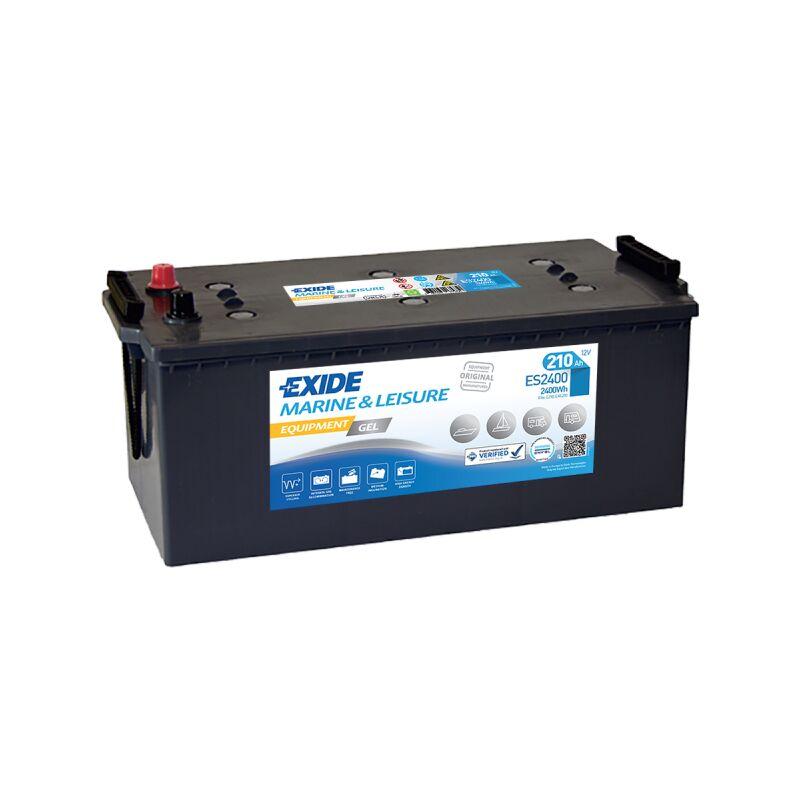 Batterie Exide Equipment Gel - Superior D06 12V 210Ah 1030A 518X279X240 +G Es2400