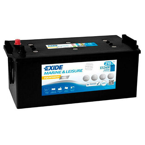 Batterie plomb etanche gel EXIDE Equipment GEL ES2400 (2400Wh) 12V 210Ah Auto