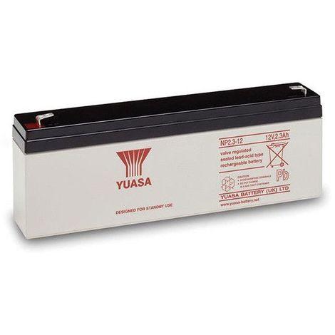 Batterie plomb étanche NP2.3-12 Yuasa 12V 2.3ah