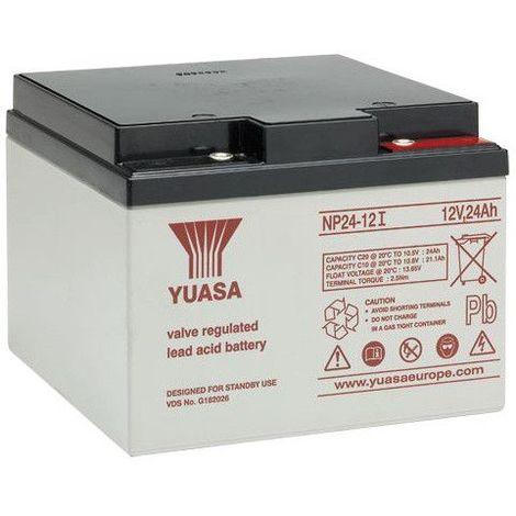 Batterie plomb étanche NP24-12 Yuasa 12V 24ah