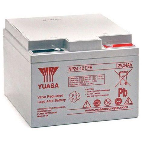 Batterie plomb étanche NP24-12FR Yuasa 12V 24ah