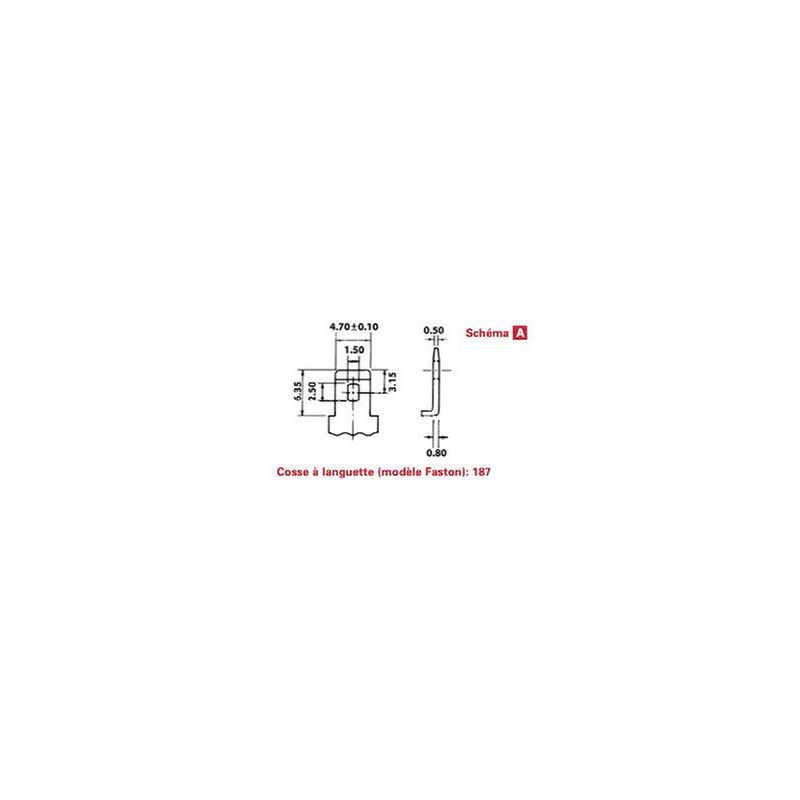 BATTERIE PLOMB /ÉTANCHE NP5-12 ENERSYS 12V 5AH